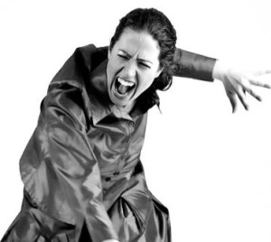 bigstockphoto_Hysterical_Woman_With